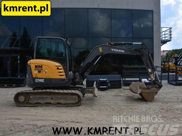 Volvo ECR 48 TAKEUCHI TB 125 153 235 KUBOTA U 48-4