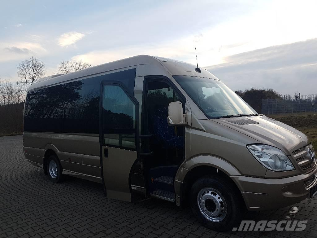 used mercedes benz sprinter 518 xxl mini bus year 2009 price 29 036 for sale mascus usa. Black Bedroom Furniture Sets. Home Design Ideas