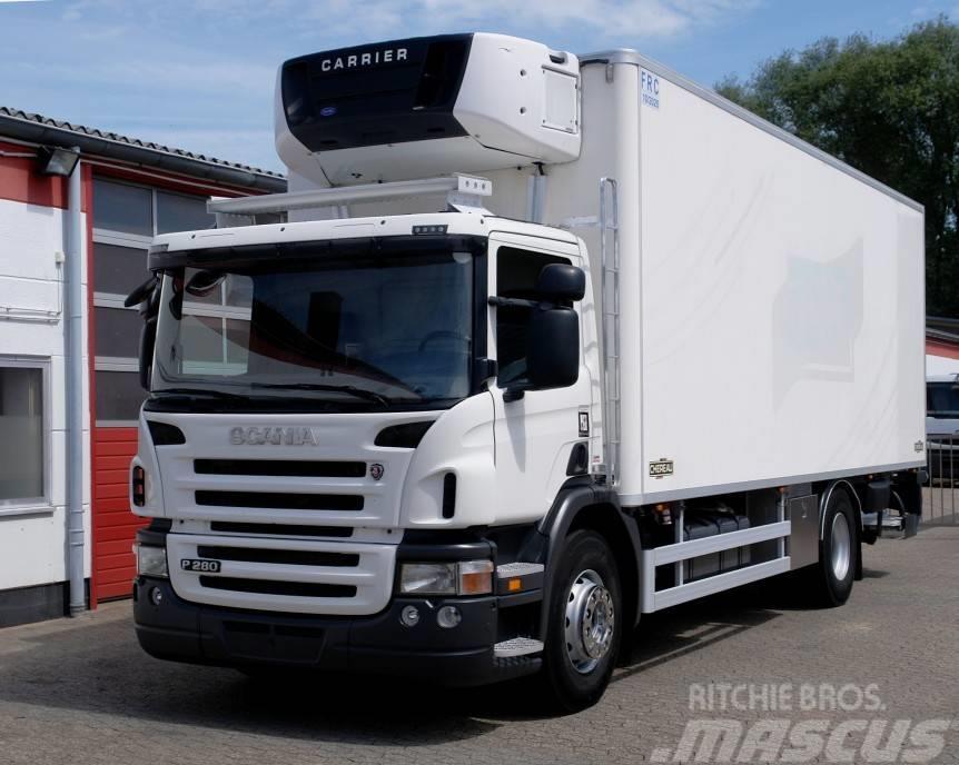 Scania P280 Tiefkühlkoffer Fleisch Meat Klima LBW TÜV