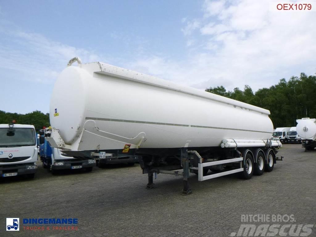 Trailor Fuel tank alu 40.2 m3 / 9 comp