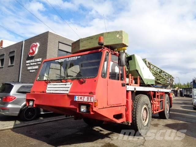 Pinguely Machine 30 tons