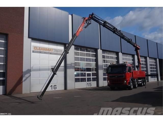 Volvo FM 12.440 8x4 Palfinger 29 ton/meter laadkraan + J