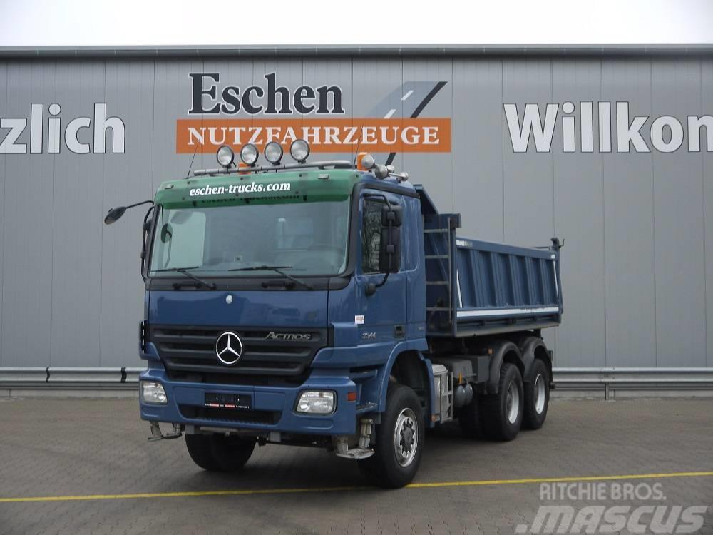 Mercedes-Benz 3344 AK 6x6, Obj.-Nr.: 0639/18