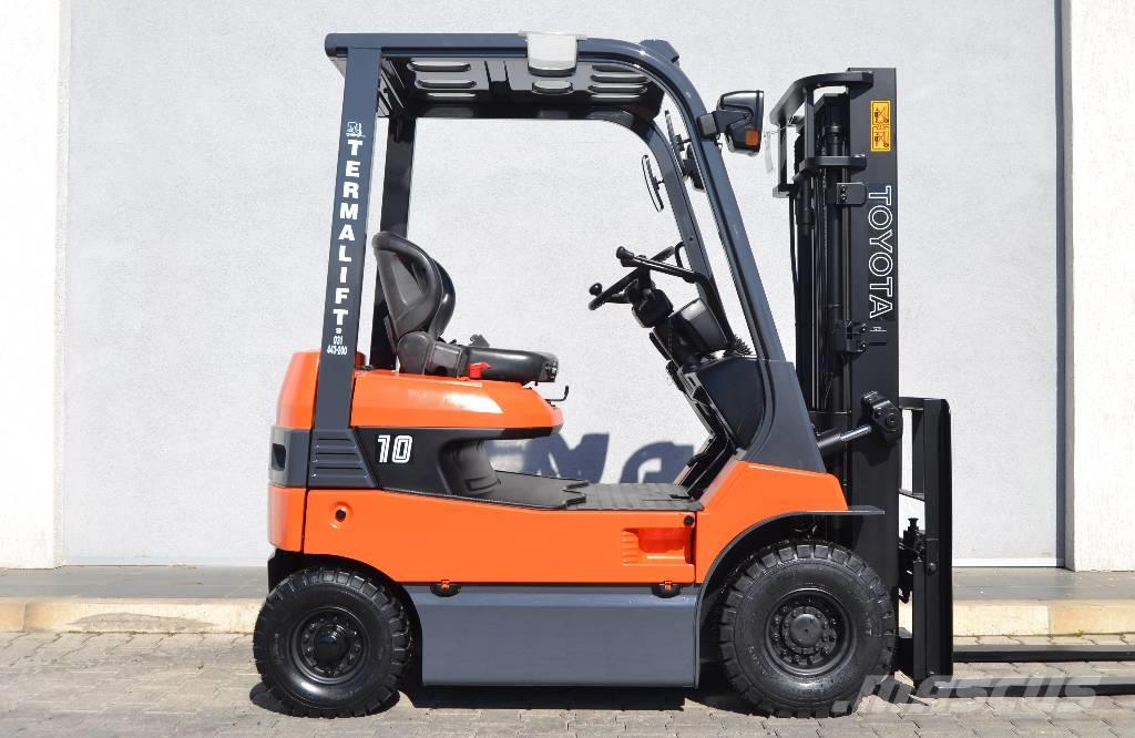 Used toyota 7fb10 electric forklift trucks year 2008 for for Forklift electric motor for sale