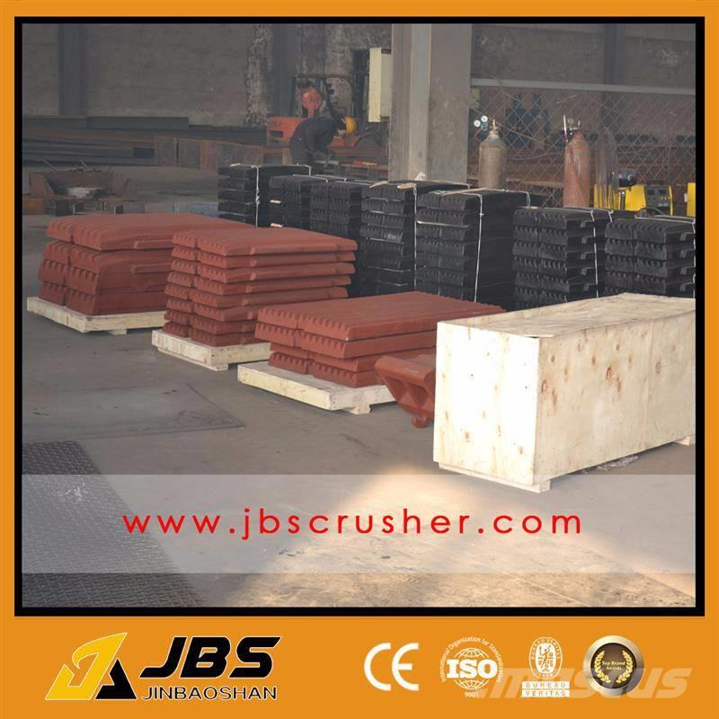 JBS Jaw Crusher Spare Parts Jaw Plate Supply