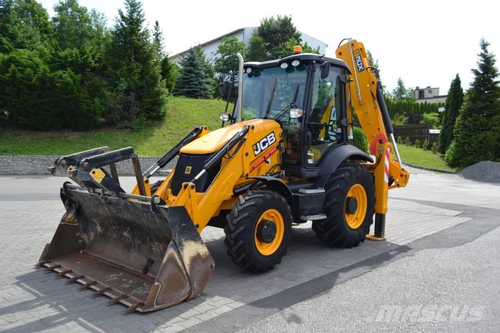 Jcb 3cx Eco - Backhoe Loaders  Year Of Manufacture  2015