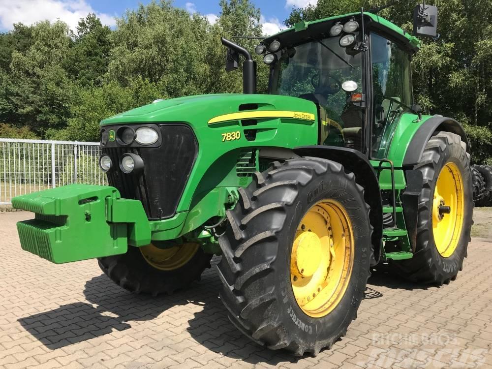 John Deere 7830 Allrad Traktor