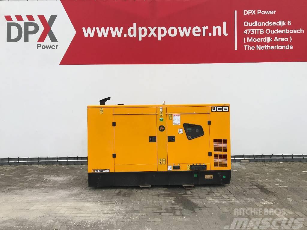 JCB G91QS - 91 kVA Generator - DPX-11875