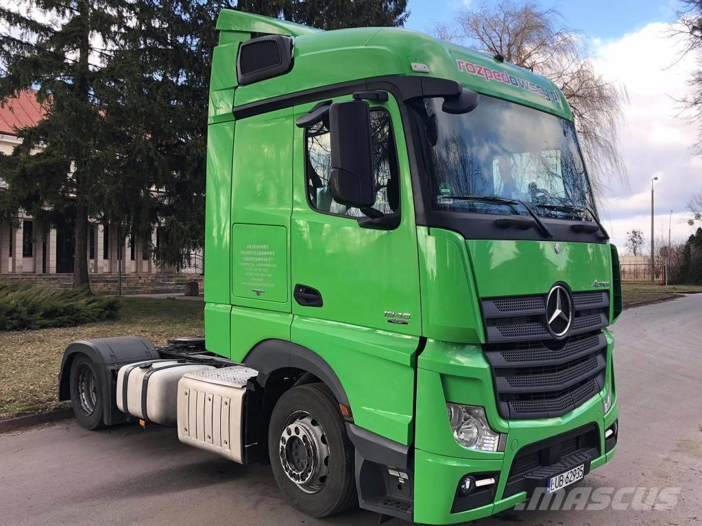 Mercedes-Benz Actros MP4 1845L Stream Space EURO 5, Lov Deck