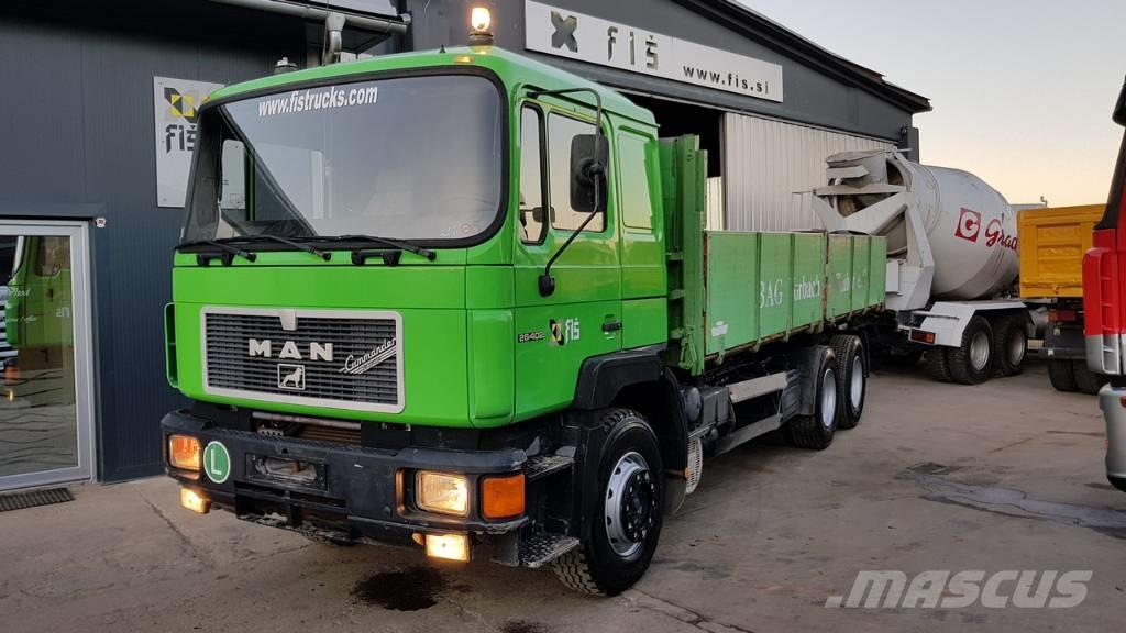 MAN 26.402 6X4 tipper