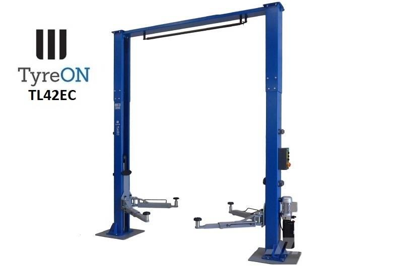 TyreOn TL42EC Two Column Lift Clear Floor - up to 4200 kg