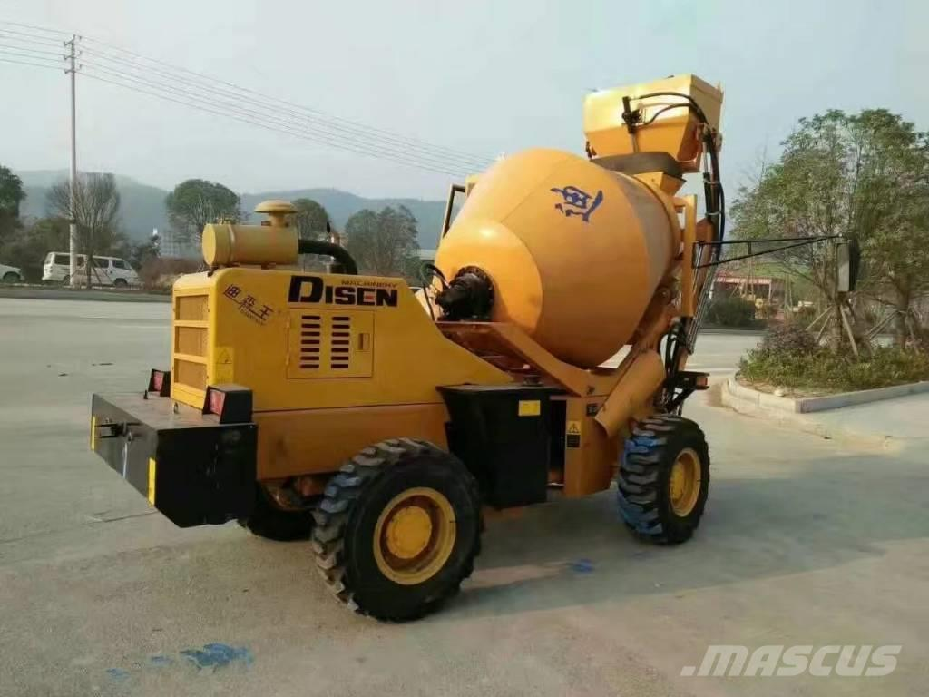 Disenwang DZJC- Concrete mixer --1m³