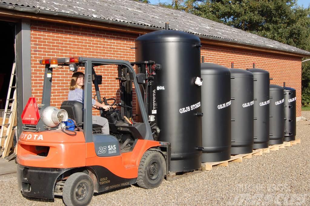Gejs 500 til 3000 liter fra
