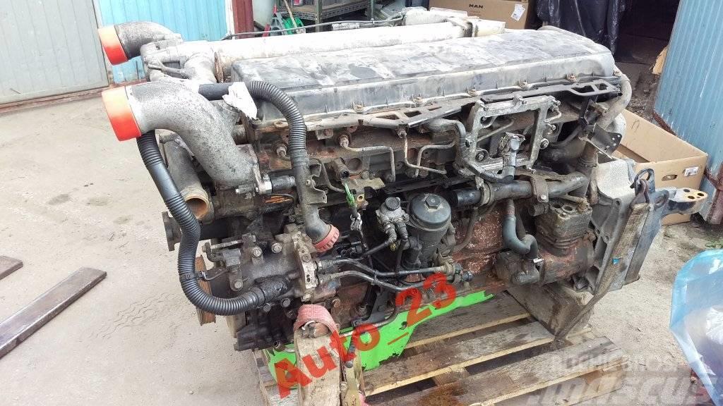 MAN TGA MAN D2066LF Silnik D20 E3 Silnik D2066LF Euro3