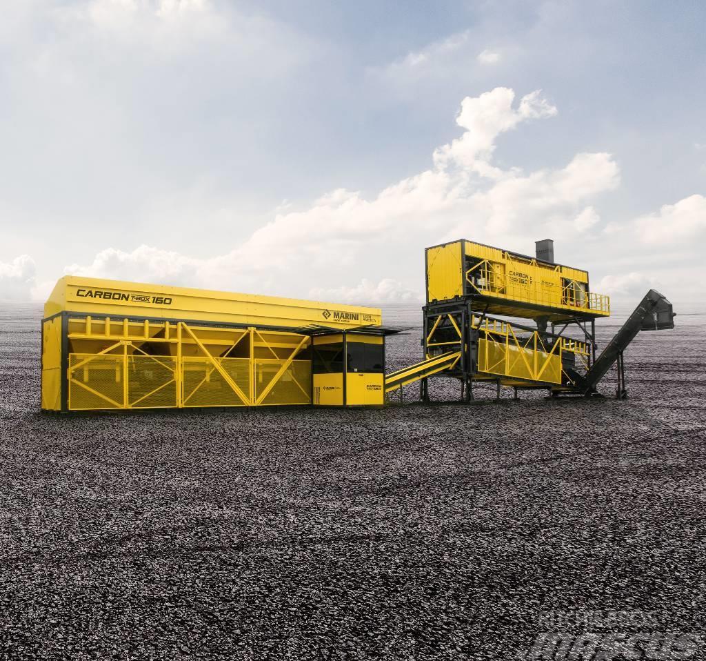 Marini Carbon T-Max 160 mobile asphalt plant
