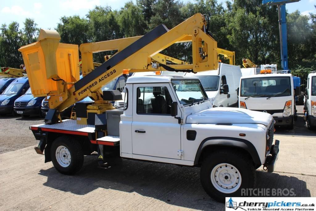 Land Rover DEFENDER POWERED ACCESS PLATFORM 135 TDA
