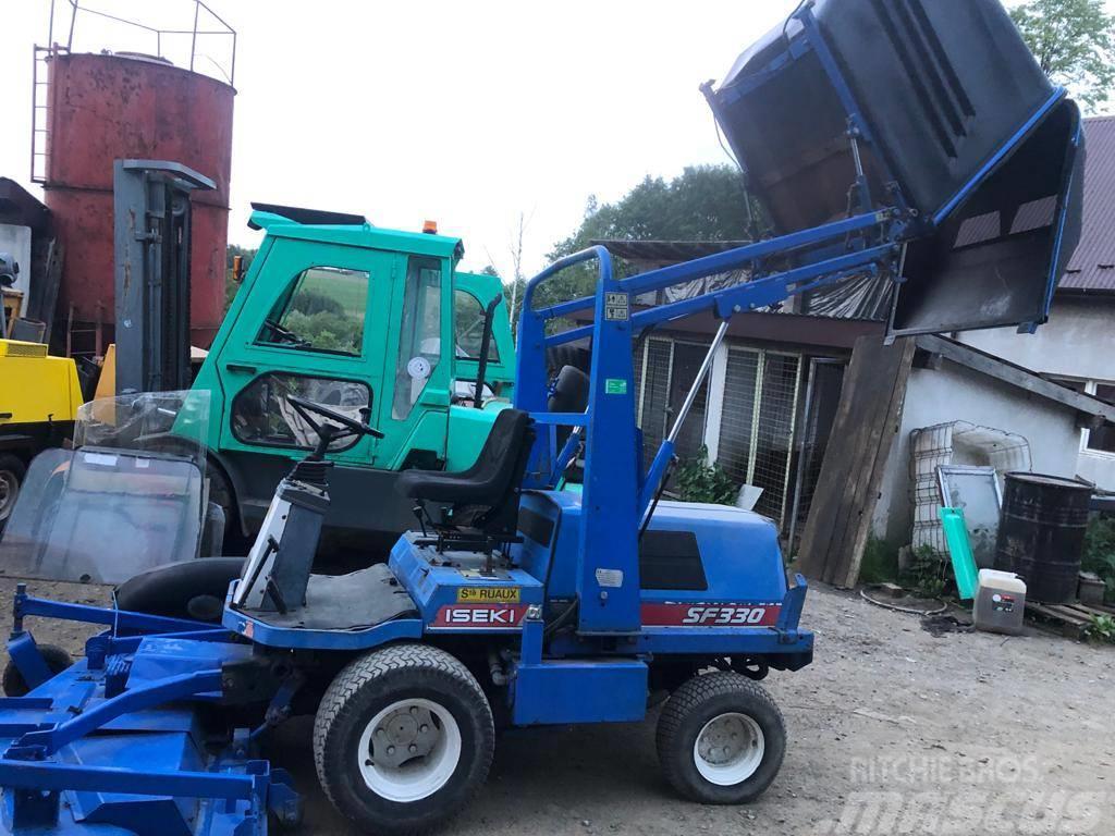 [Other] Kosiarka Komunalna Traktor Traktorek ISEKI SF330