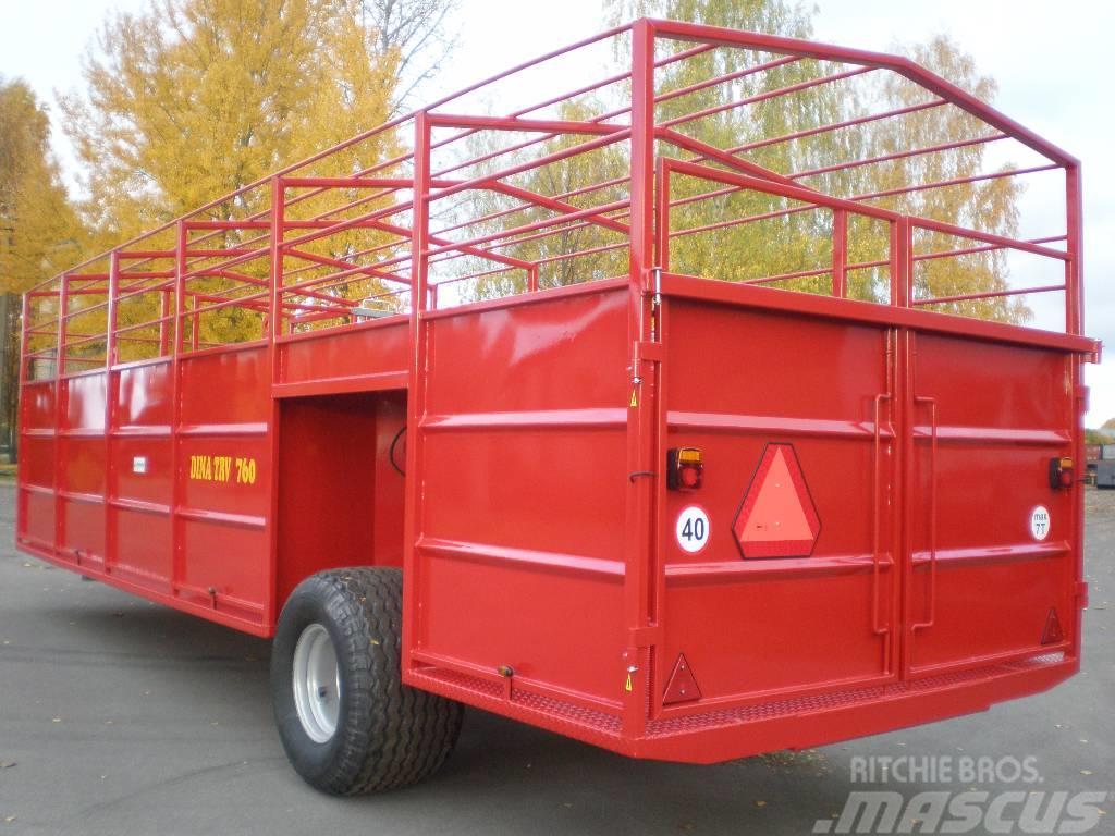 TRV-760 DINAPOLIS DINA TRV-760, 2017, Djurtransport trailer