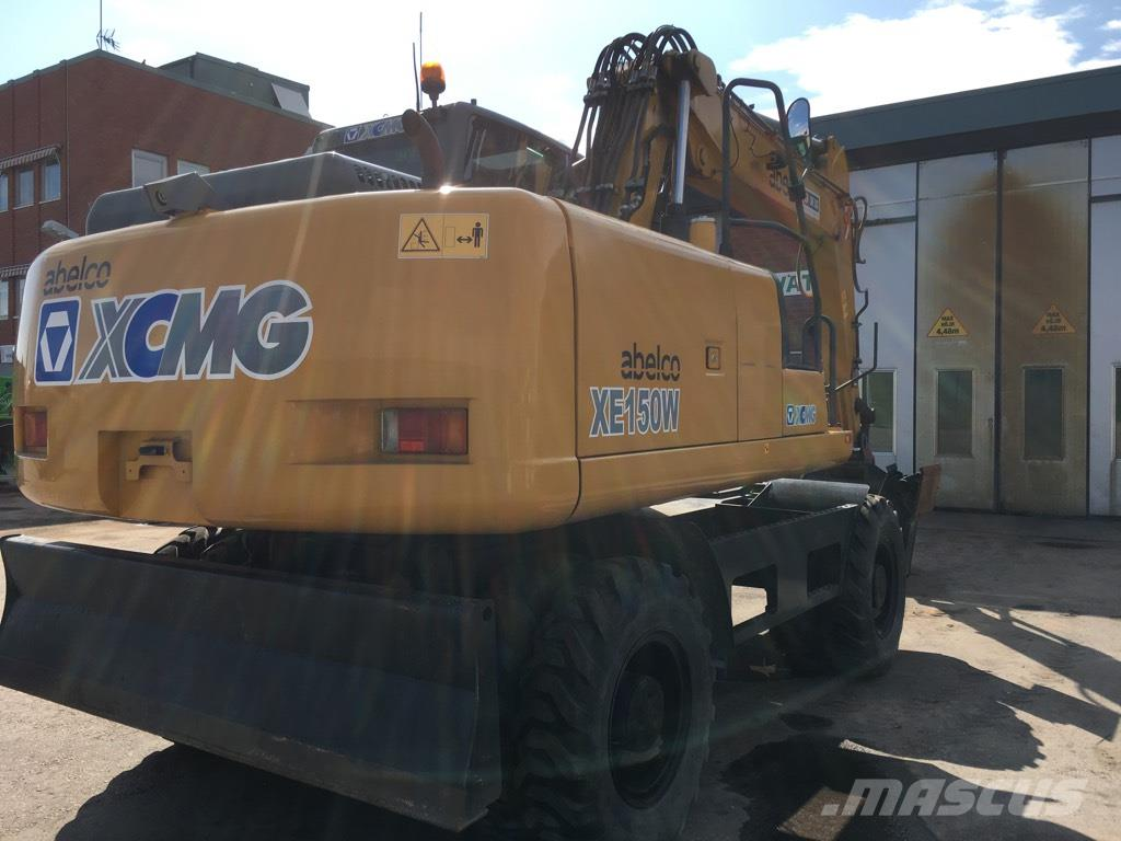 XCMG XE150W - Wheeled excavators, Price: £46,437, Year of manufacture: 2014