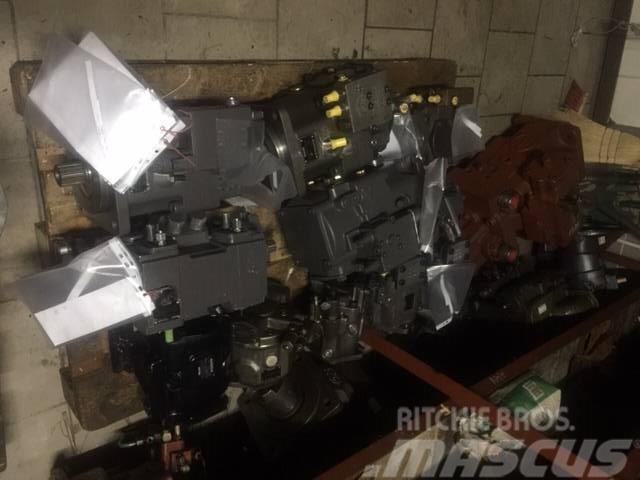 Mecalac AX 700 AX850 AX1000  Pump A4VG56 5350265