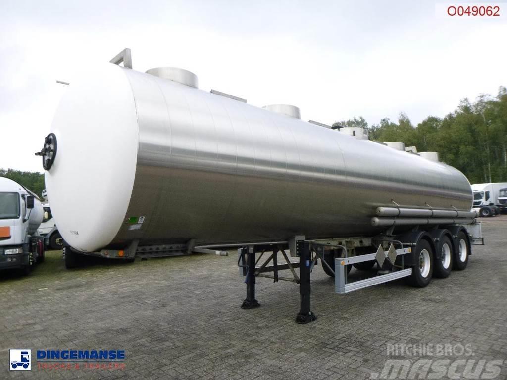 Magyar Chemical tank inox 34.6 m3 / 1 comp