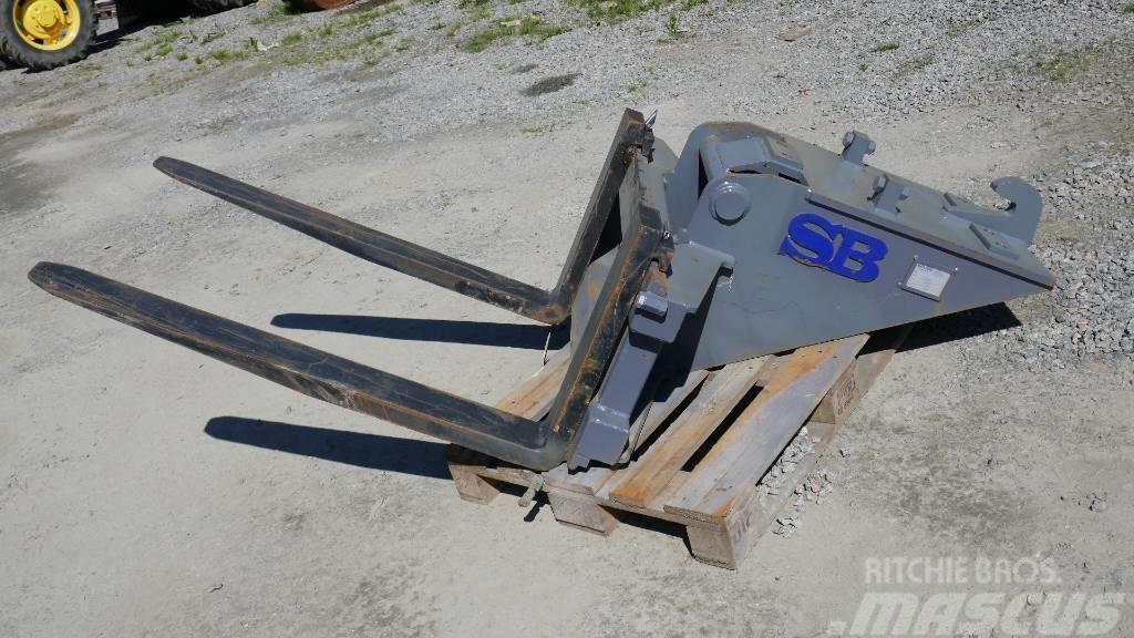 SB Grävtillbehör Pallgaffelställ 4ton B20, S1