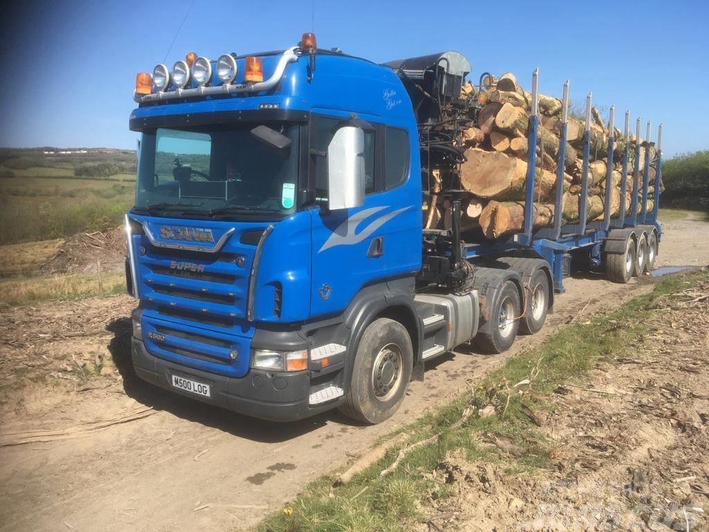 Scania R560 V8 c/w Loglift Crane