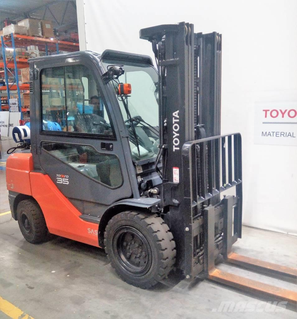 Toyota 8 FG JF 35