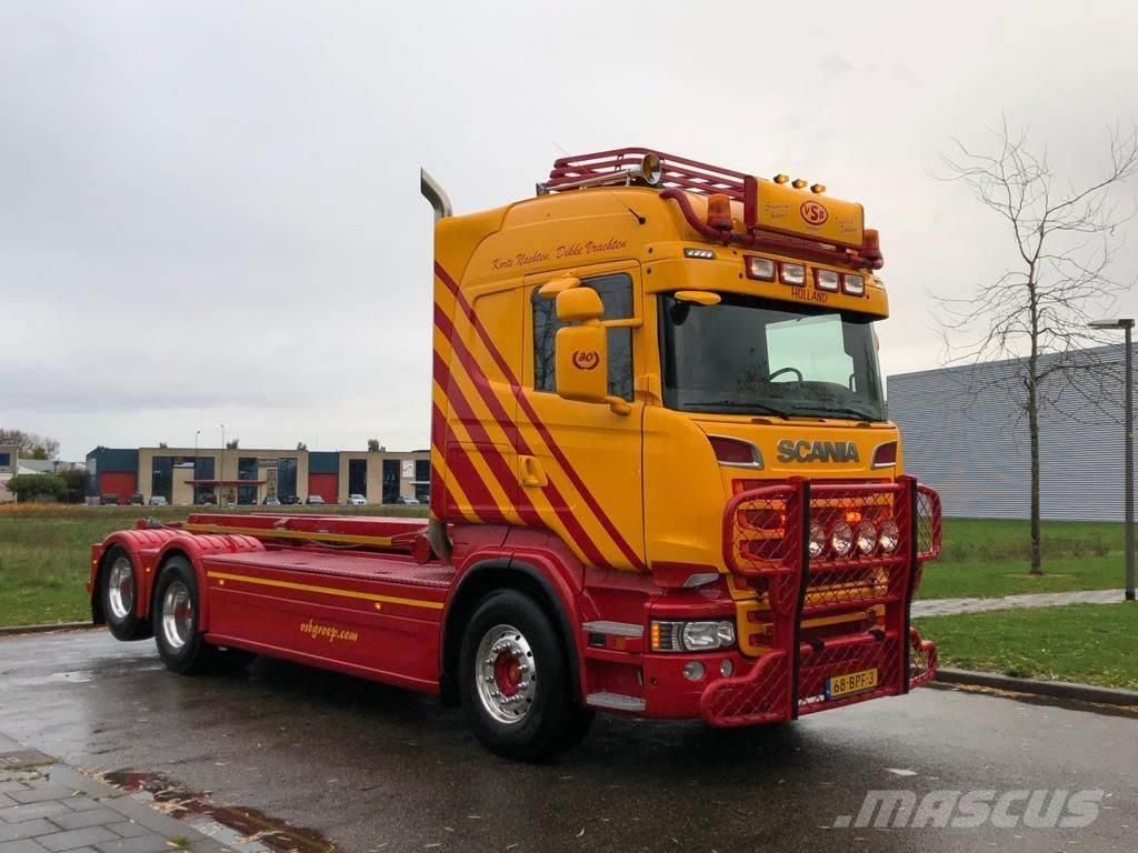 Scania R730 Highline 6x2 Nch kabel systeem