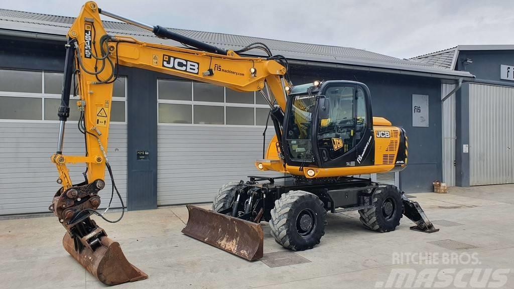 JCB JS 145 WT T4 - 3X BUCKETS - AC