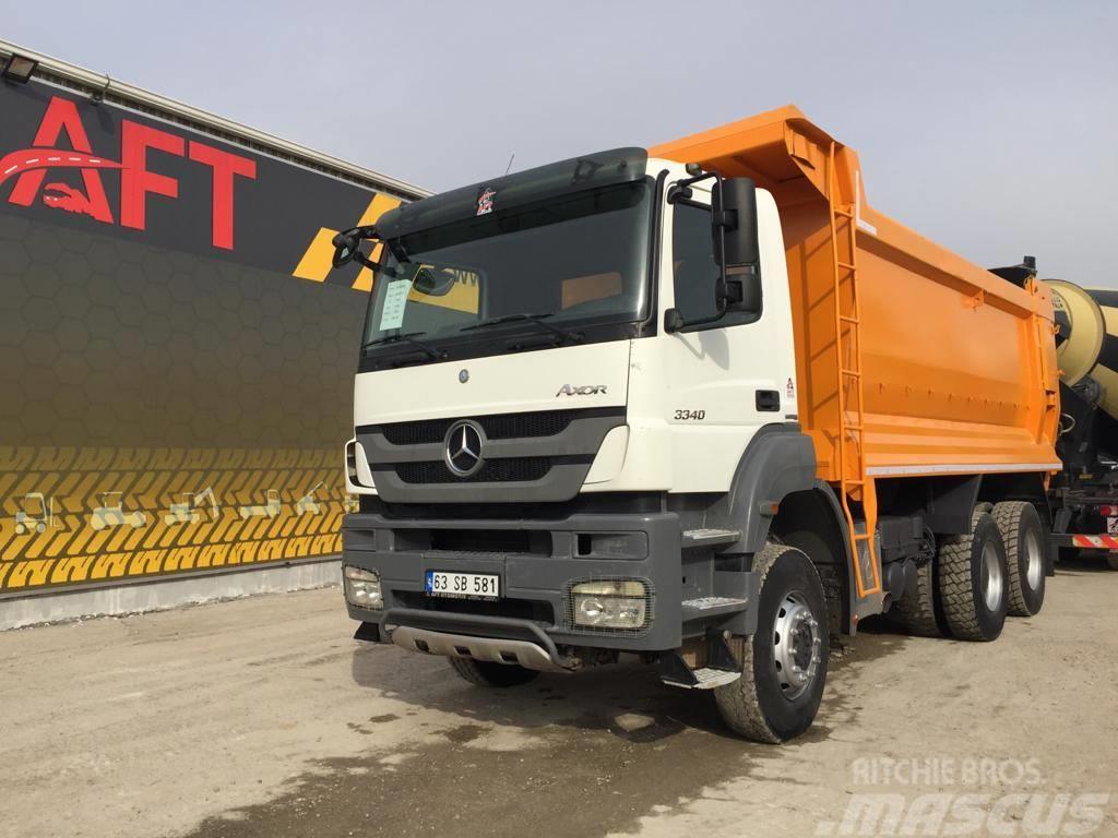 Mercedes-Benz 2013 MERCEDES 3340 HARDOX TİPPER