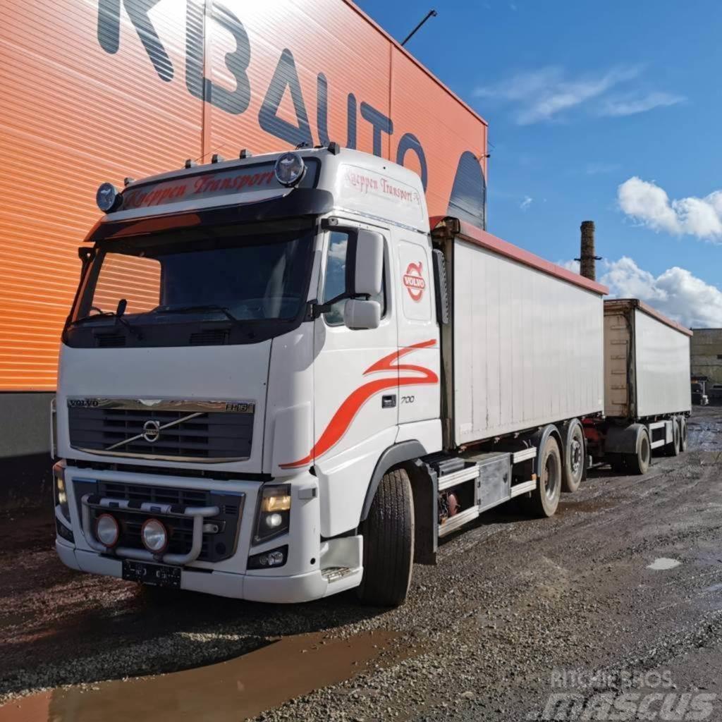 Volvo FH 16 700 6x2 + Trailer