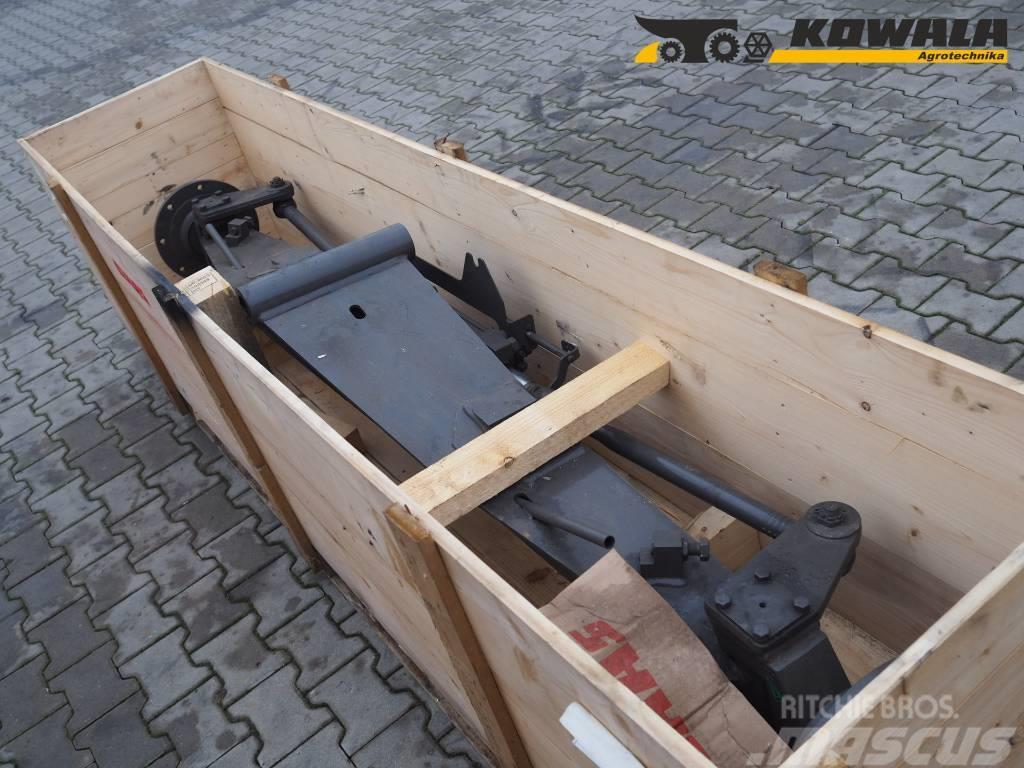 CLAAS Jaguar steering axle (type 494 and 496)