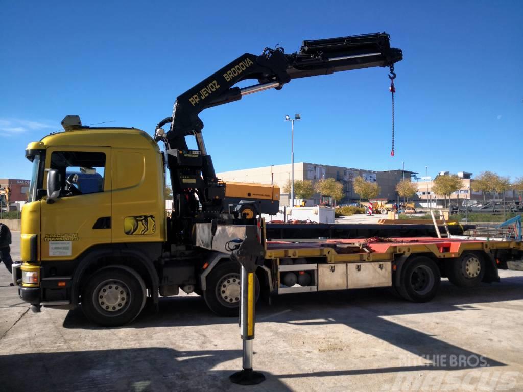Scania 164g 480 V8 PK 56002 5H + 3M