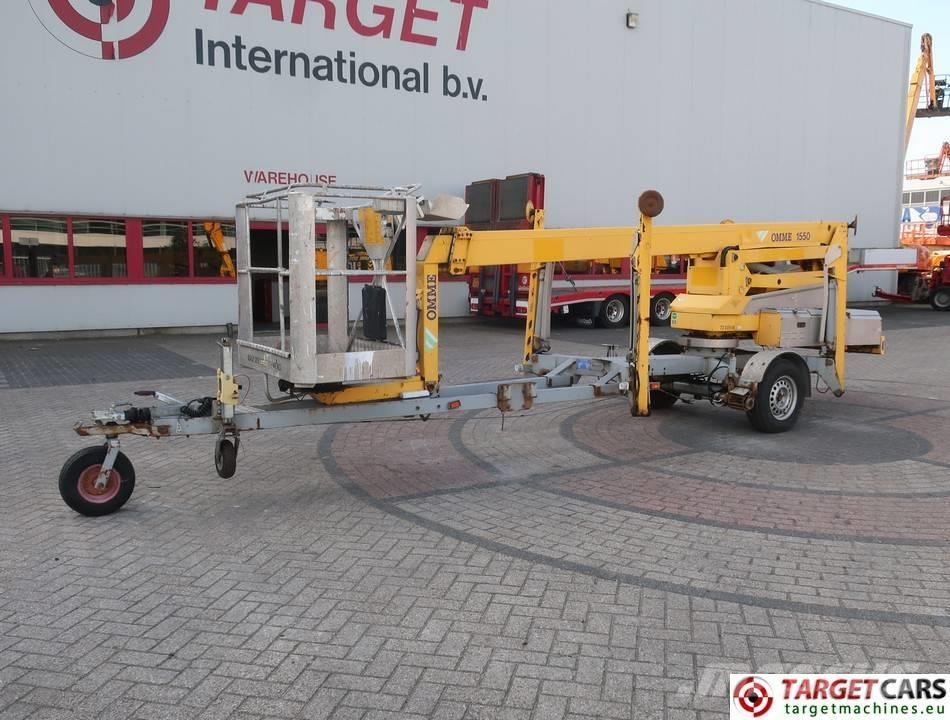Omme 1550EBZX Articulated Boom Work Lift 1530cm