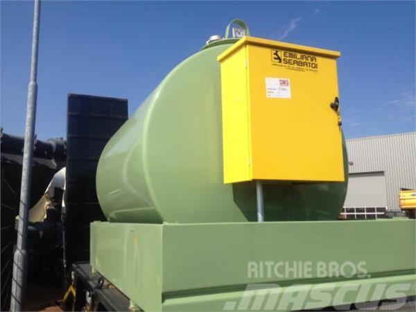 Emiliana Serbatoi TF3/50 3000 Litre Steel Fuel Tank
