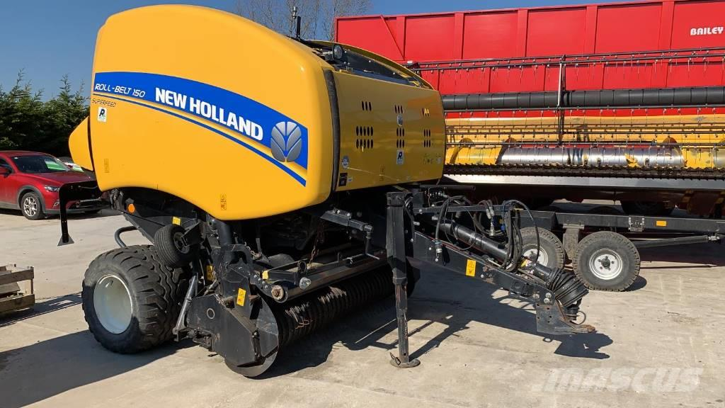 New Holland RB150F Round Baler
