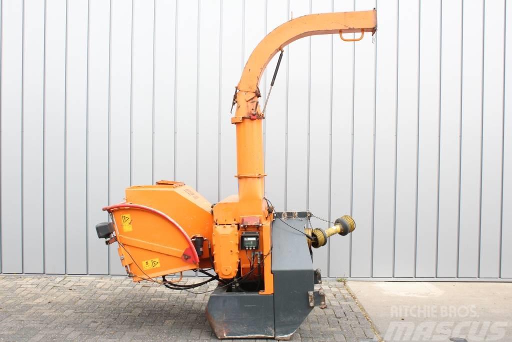 Jensen A328 ZL houtversnipperaar / Holzhäcksler