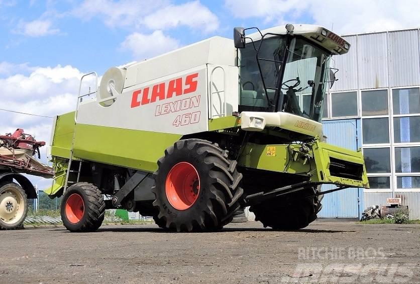CLAAS LEXION 460 + VARIO 660