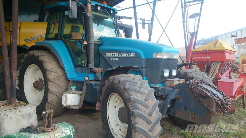 New Holland Ford >> Ford New Holland 8870