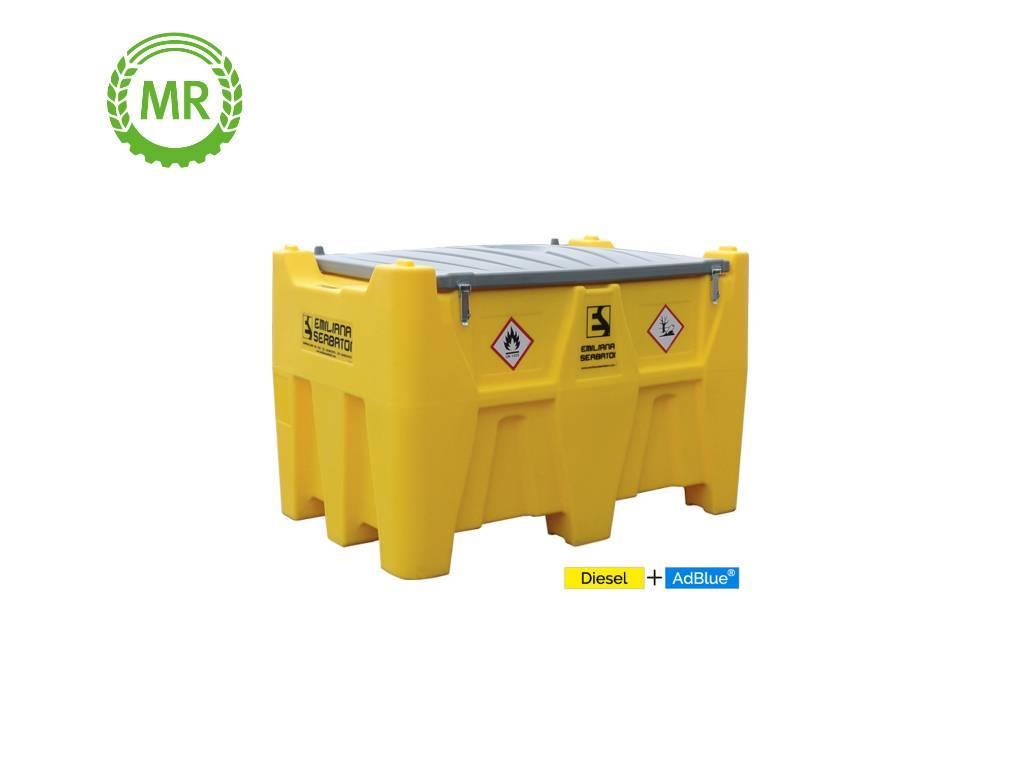 Emiliana Serbatoi Carrytank Mobile Tankstelle Diesel + AdBlue® Kombi