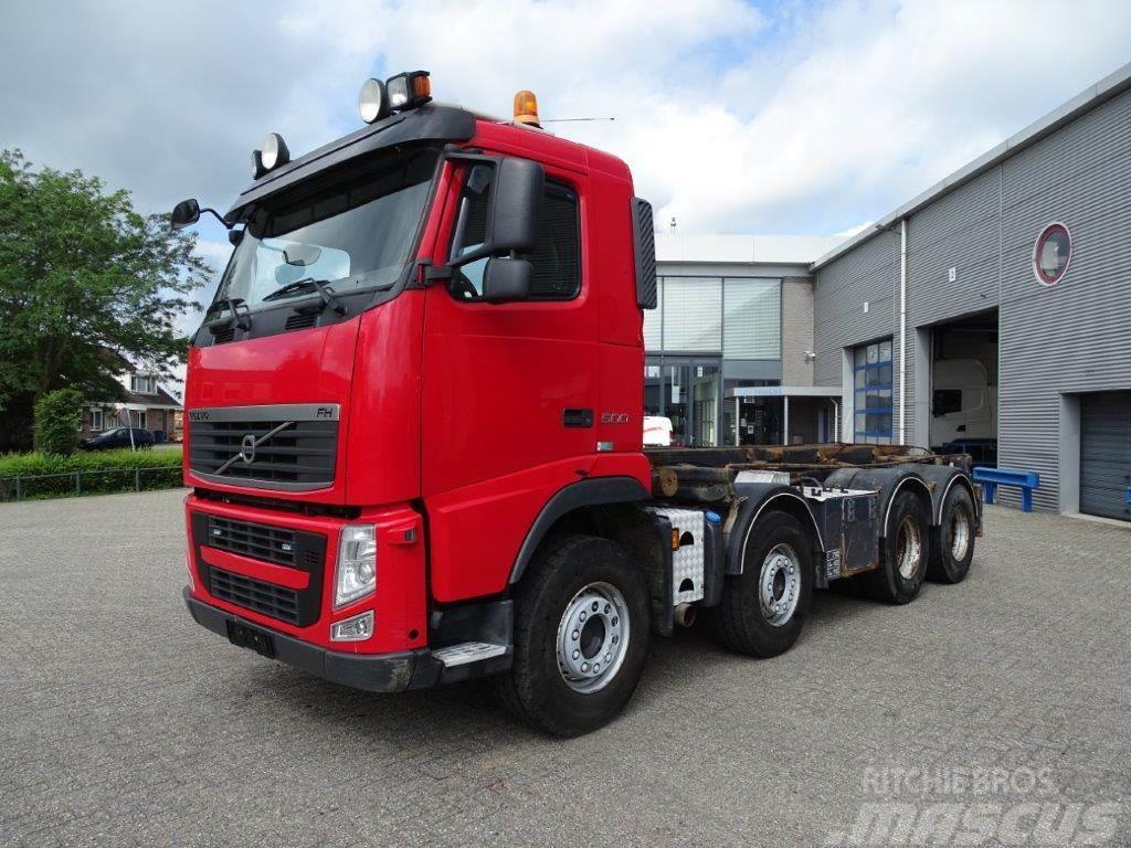 Volvo FH13-500 / MANUAL / FULL STEEL / 8X4 / EURO-5 / 20