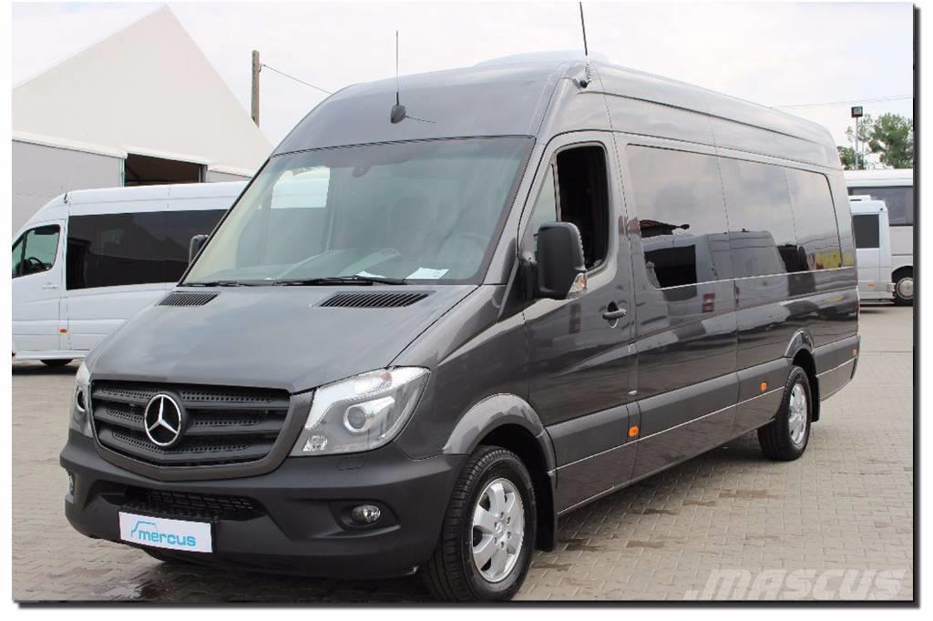 mercedes benz sprinter 316 cdi occasion prix 60 000 ann e d 39 immatriculation 2016 minibus. Black Bedroom Furniture Sets. Home Design Ideas