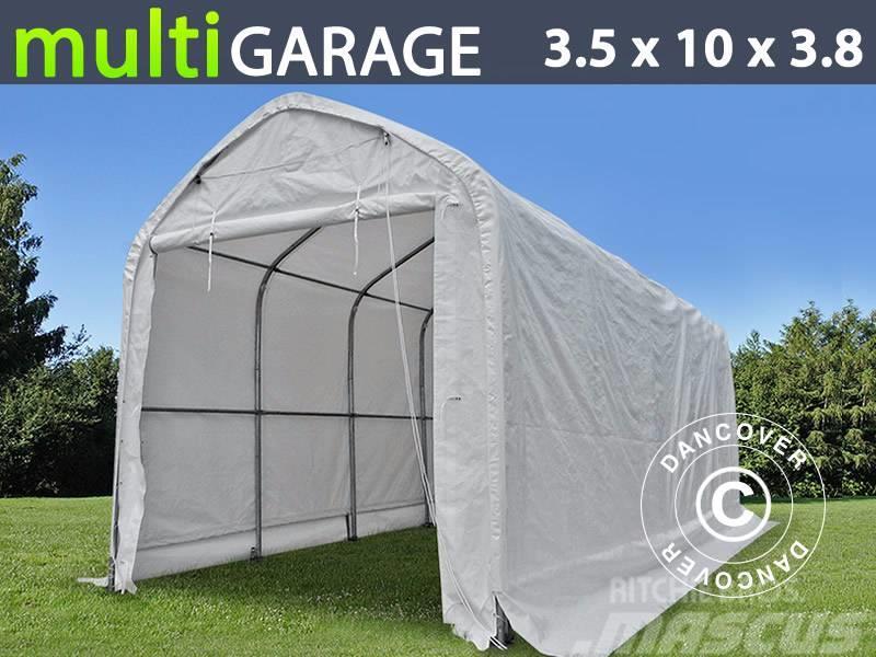 Dancover Storage Shelter 3,5x10x3x3,80m PVC, Telthal