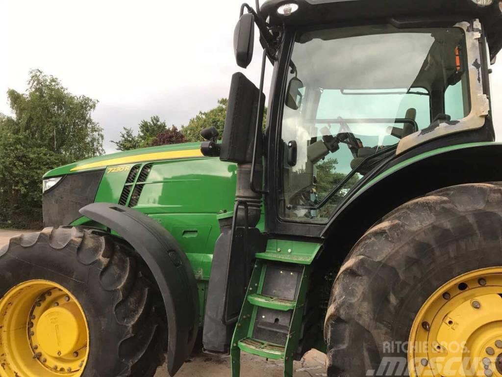 John Deere 7230 R, 2012, Tractors