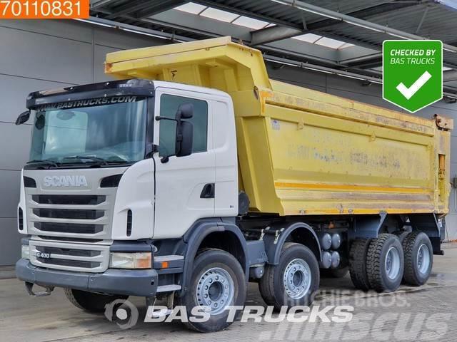 Scania G400 8X4 Manual 30m3 Big-Axle Steelsuspension Euro