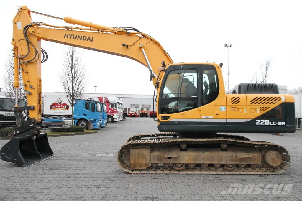 Hyundai 22,5T ROBEX 220LC-9 only 3000 MTH