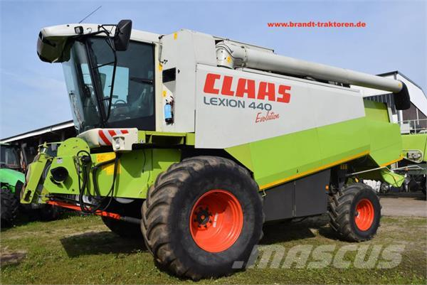 CLAAS Lexion 440 Evolution