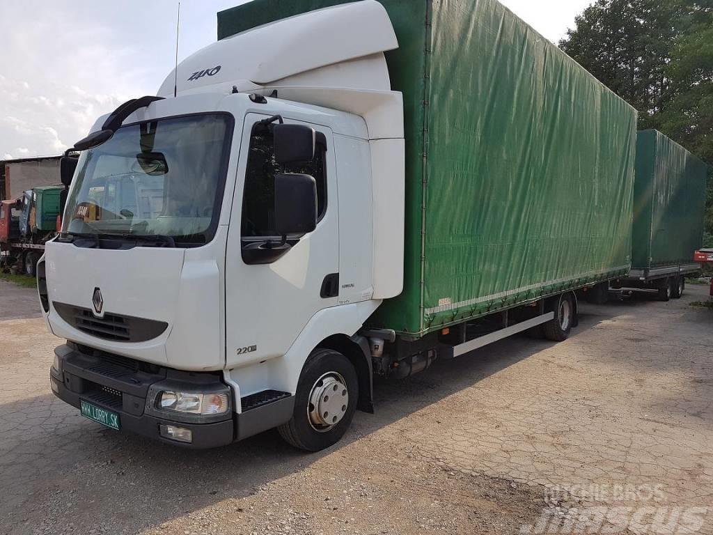 Renault MIDLUM 220.8 + AGRICOM DUX35