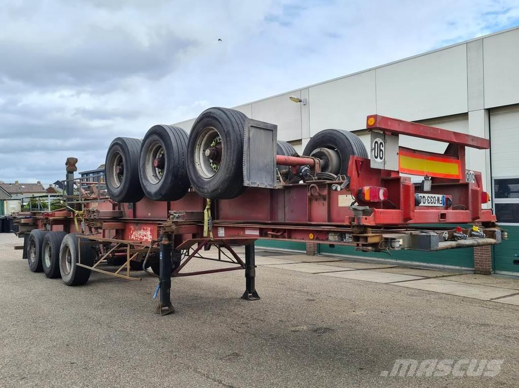 Fruehauf Container Chassis Full Steel / 40ft. / 30ft. / 20f